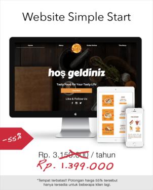 Waruga Website Simple Start